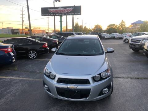 2013 Chevrolet Sonic for sale at Washington Auto Group in Waukegan IL