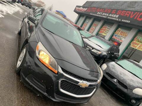 2014 Chevrolet Malibu for sale at Washington Auto Group in Waukegan IL