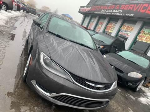 2015 Chrysler 200 for sale at Washington Auto Group in Waukegan IL