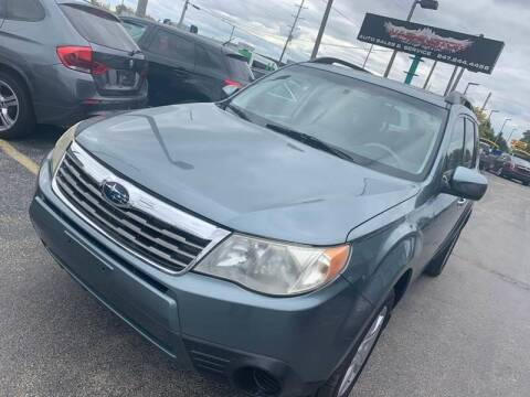 2009 Subaru Forester for sale at Washington Auto Group in Waukegan IL