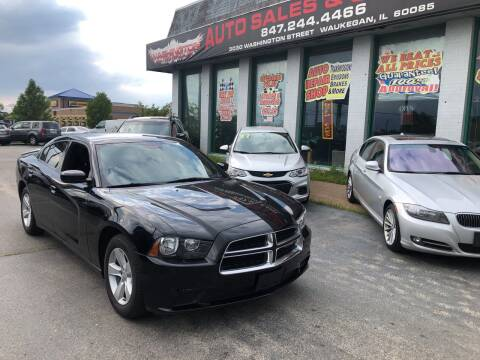 2014 Dodge Charger for sale at Washington Auto Group in Waukegan IL