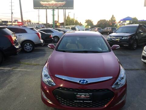 2013 Hyundai Sonata Hybrid for sale at Washington Auto Group in Waukegan IL