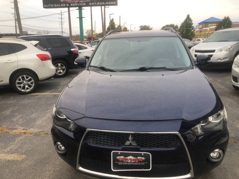 2012 Mitsubishi Outlander for sale at Washington Auto Group in Waukegan IL