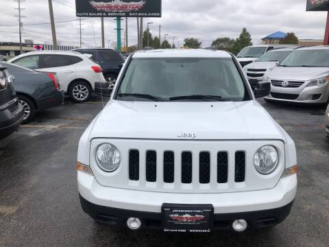 2015 Jeep Patriot for sale at Washington Auto Group in Waukegan IL