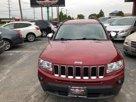 2011 Jeep Compass for sale at Washington Auto Group in Waukegan IL