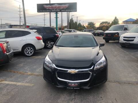 2016 Chevrolet Malibu Limited for sale at Washington Auto Group in Waukegan IL