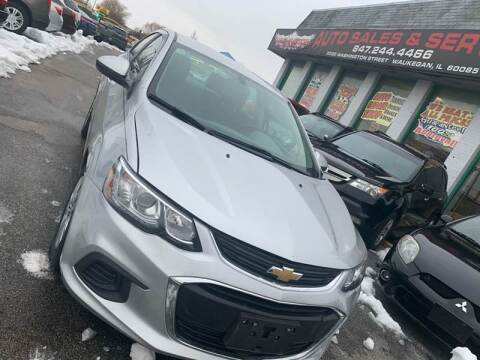 2017 Chevrolet Sonic for sale at Washington Auto Group in Waukegan IL