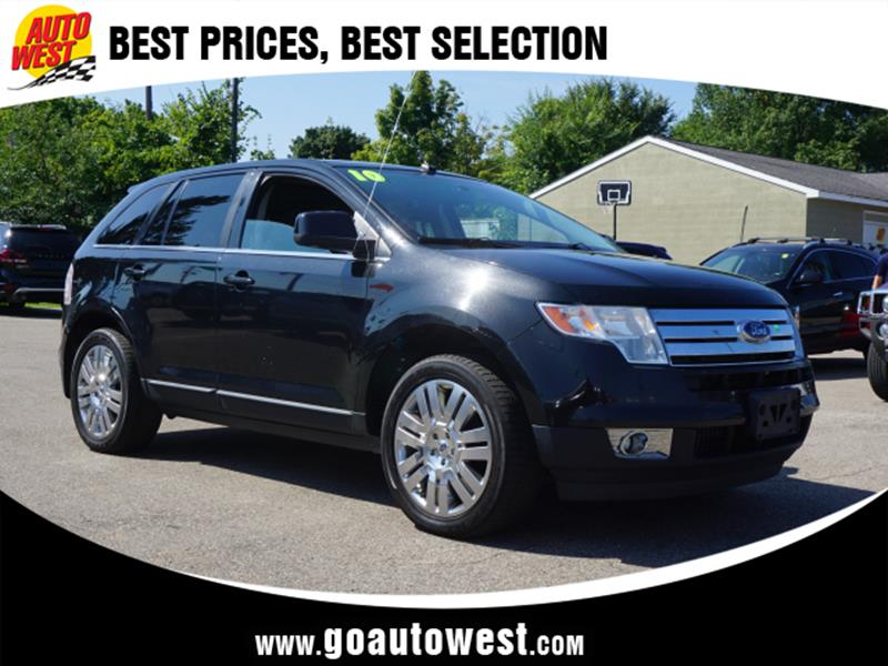 Ford Edge Awd Limited Dr Crossover Plainwell Mi