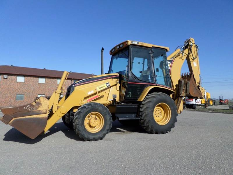 2002 Caterpillar 416D for sale at Grand Valley Motors in West Fargo ND