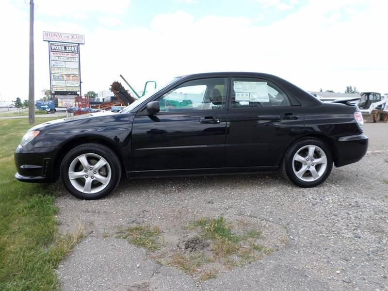 2006 Subaru Impreza AWD 2.5 i 4dr Sedan w/Automatic - West Fargo ND