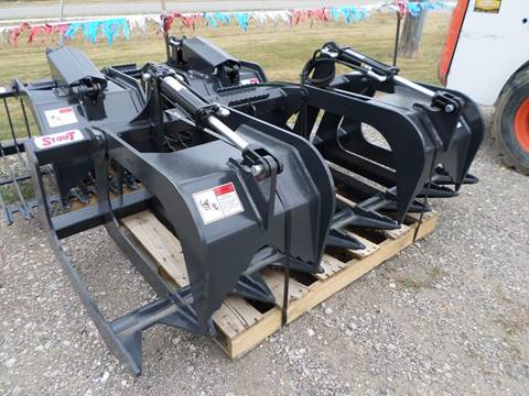 "2017 STOUT 72"" SKID STEER GRAPPLE FORKS"