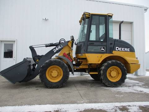 2008 John Deere 244J WHEEL LOADER for sale at Grand Valley Motors in West Fargo ND
