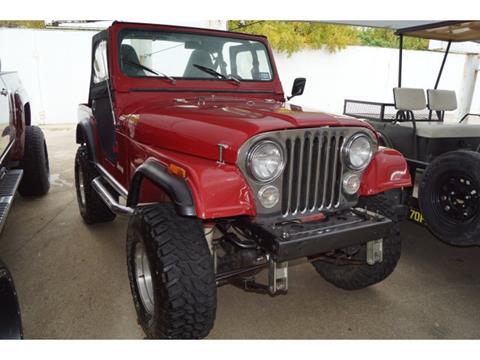 1982 Jeep CJ-5 for sale in Arlington, TX