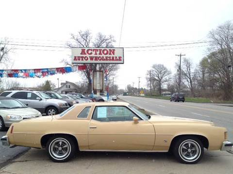 1976 Pontiac Grand Prix for sale at Action Auto Wholesale in Painesville OH