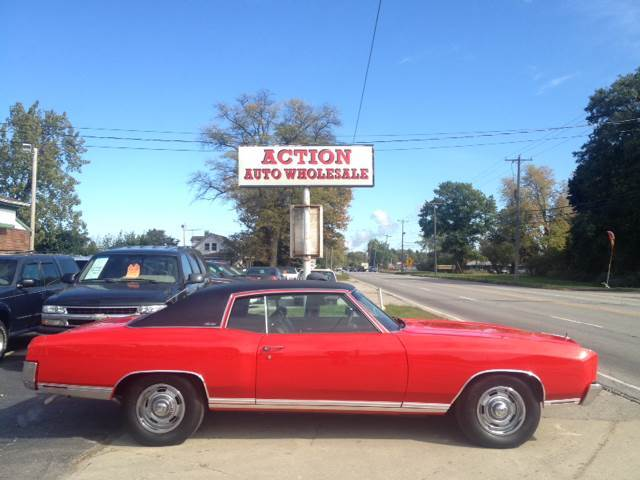 1971 Chevrolet Monte Carlo for sale at Action Auto Wholesale in Painesville OH