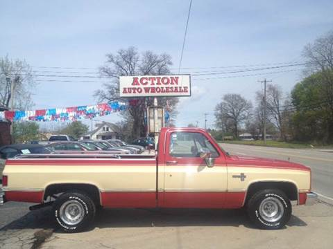 1986 Chevrolet Silverado 1500 for sale at Action Auto Wholesale in Painesville OH
