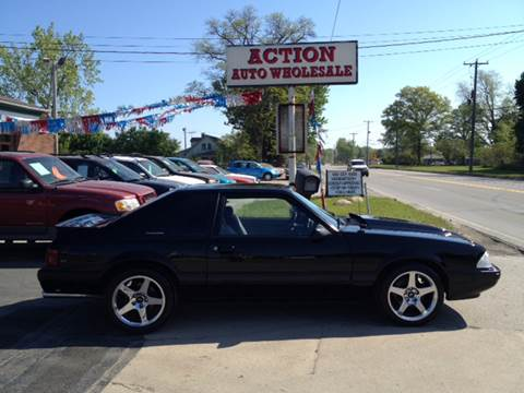 1988 Ford Mustang for sale at Action Auto Wholesale in Painesville OH