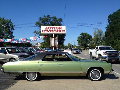 1972 Chevrolet Caprice for sale at Action Auto Wholesale in Painesville OH