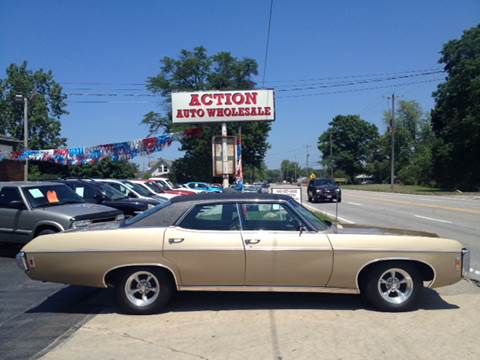 1969 Chevrolet Caprice for sale at Action Auto Wholesale in Painesville OH