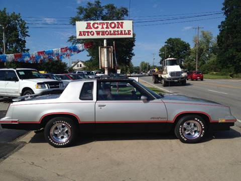 1984 Oldsmobile Cutlass for sale at Action Auto Wholesale in Painesville OH