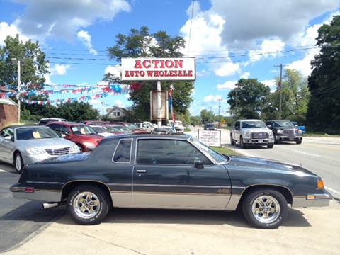 1987 Oldsmobile Cutlass Supreme for sale at Action Auto Wholesale in Painesville OH