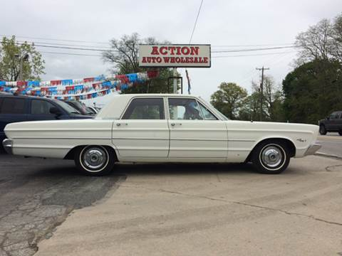 1966 Plymouth Fury for sale at Action Auto Wholesale in Painesville OH