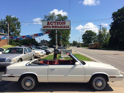 1985 Chrysler Le Baron for sale in Painesville, OH