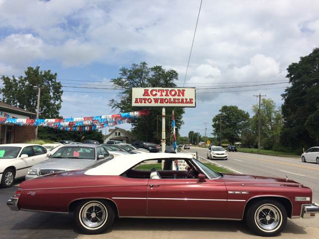 1975 Buick LeSabre for sale at Action Auto Wholesale in Painesville OH