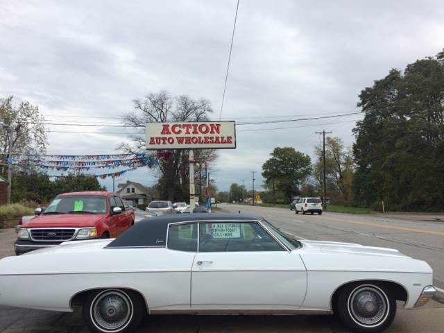 1970 Chevrolet Caprice for sale at Action Auto Wholesale in Painesville OH