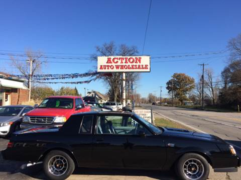1987 Buick Regal for sale at Action Auto Wholesale in Painesville OH