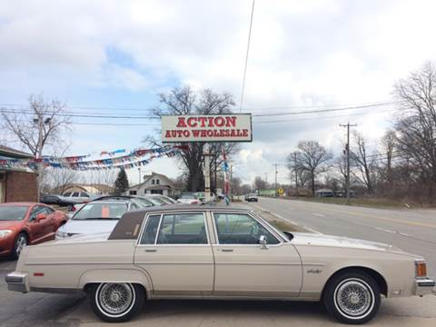 1984 Oldsmobile Ninety-Eight for sale at Action Auto Wholesale in Painesville OH