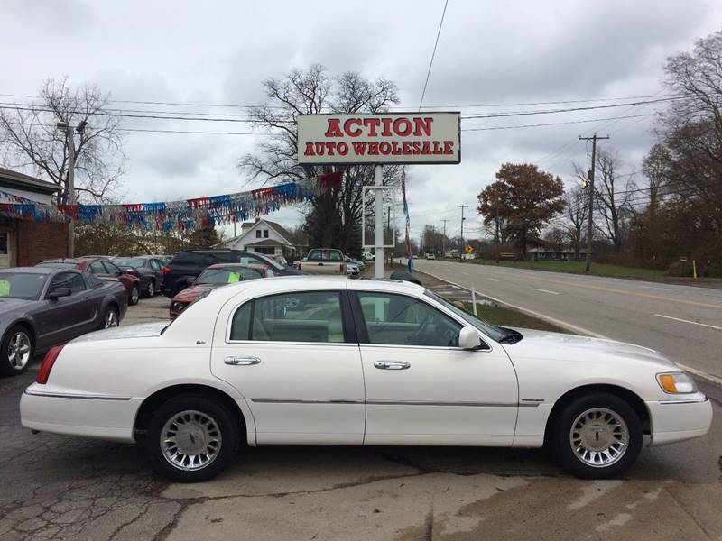 1998 Lincoln Town Car Cartier In Painesville Oh Action Auto Wholesale