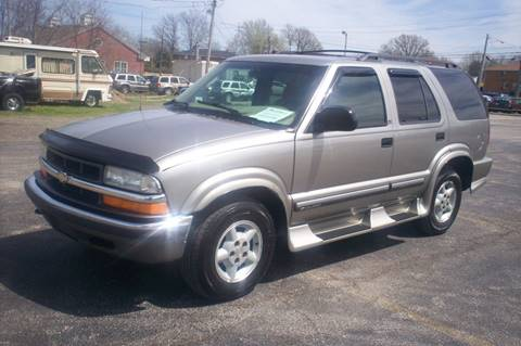 2001 chevy blazer owners manual