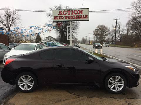 2012 Nissan Altima 2.5 S for sale at Action Auto Wholesale in Painesville OH