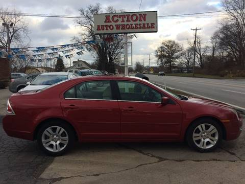 2009 Ford Fusion SEL for sale at Action Auto Wholesale in Painesville OH