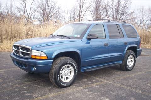 2003 Dodge Durango SLT Plus for sale at Action Auto Wholesale - 30521 Euclid Ave. in Willowick OH
