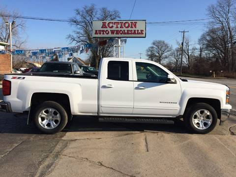 2015 Chevrolet Silverado 1500 LT Z71 for sale at Action Auto Wholesale in Painesville OH