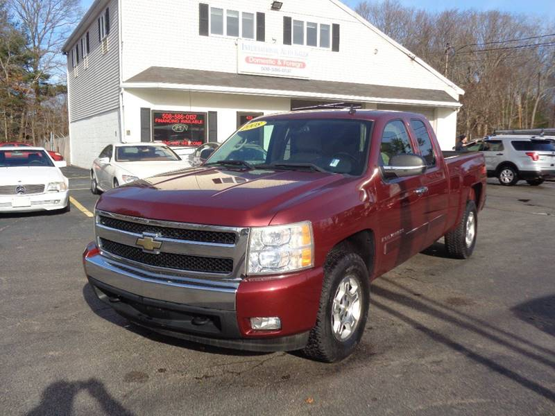 2008 Chevrolet Silverado 1500 4wd Lt2 4dr Extended Cab 6 5