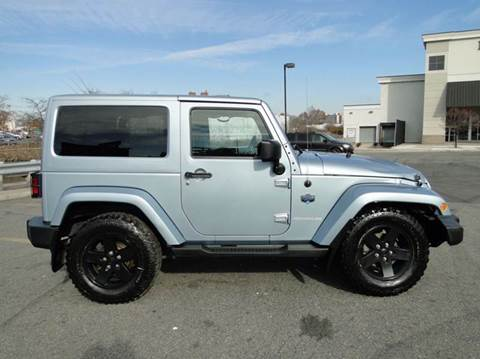 2012 Jeep Wrangler for sale at AFFORDABLE MOTORS OF BROOKLYN - Inventory in Brooklyn NY