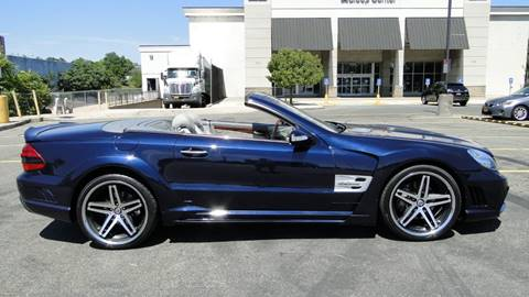 2003 Mercedes-Benz SL-Class for sale at AFFORDABLE MOTORS OF BROOKLYN - Inventory in Brooklyn NY