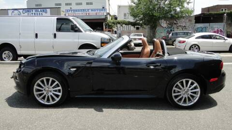 2019 FIAT 124 Spider for sale at AFFORDABLE MOTORS OF BROOKLYN in Brooklyn NY