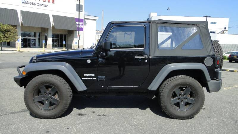 2012 Jeep Wrangler for sale at AFFORDABLE MOTORS OF BROOKLYN in Brooklyn NY