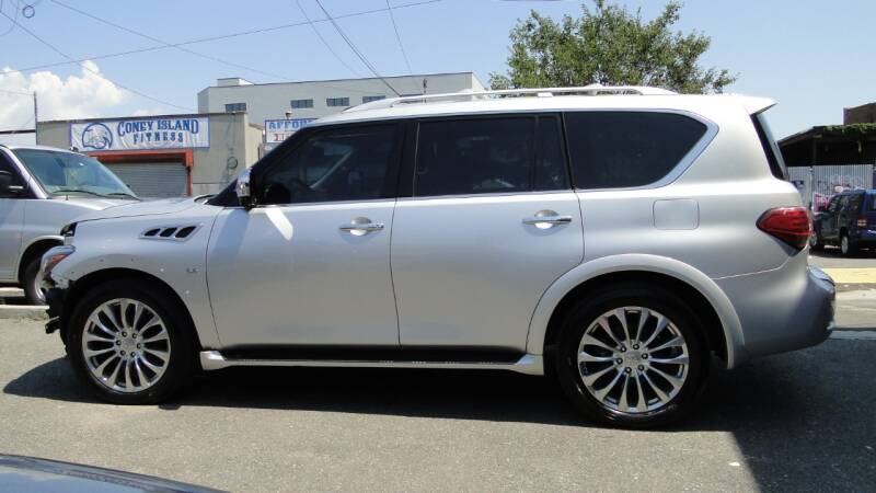 2015 Infiniti QX80 for sale at AFFORDABLE MOTORS OF BROOKLYN in Brooklyn NY
