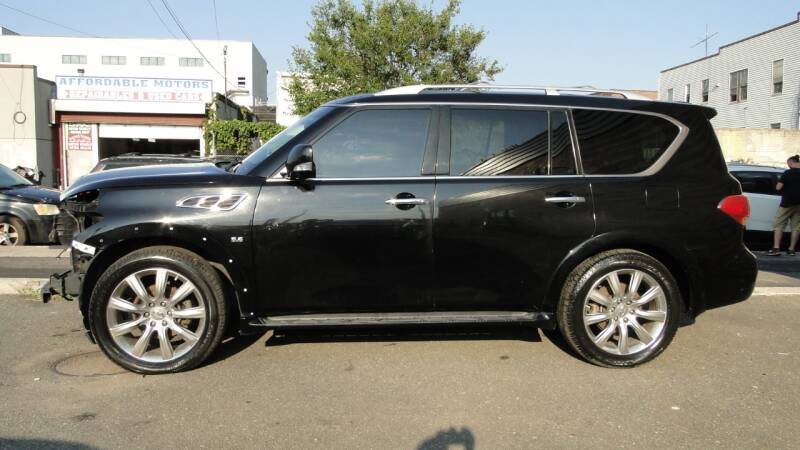2014 Infiniti QX80 for sale at AFFORDABLE MOTORS OF BROOKLYN in Brooklyn NY