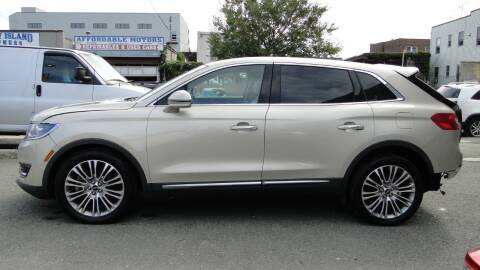 2017 Lincoln MKX for sale at AFFORDABLE MOTORS OF BROOKLYN in Brooklyn NY