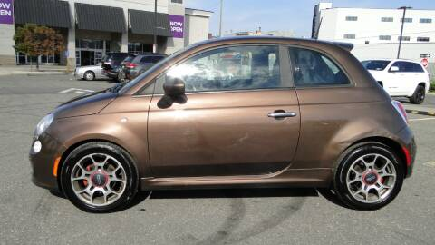 2012 FIAT 500 for sale at AFFORDABLE MOTORS OF BROOKLYN in Brooklyn NY