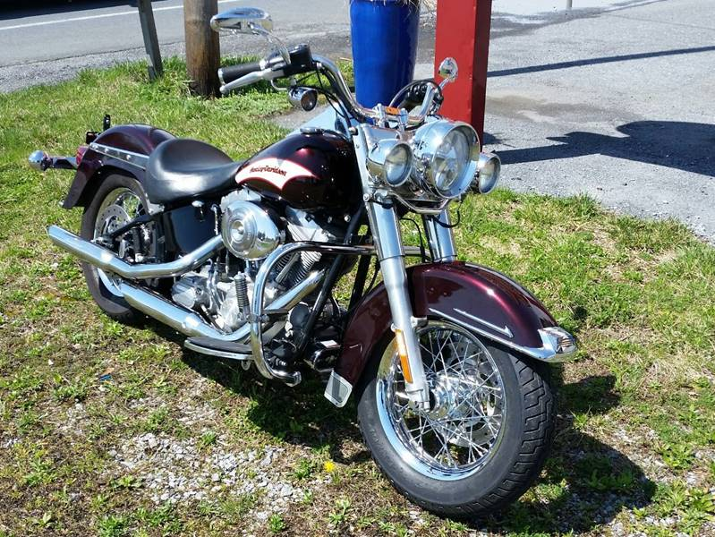 2006 Harley-Davidson FLSTI Heritage Softail