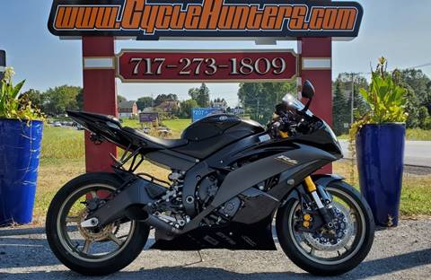 2009 Yamaha YZF R6 Raven Edition for sale in Lebanon, PA