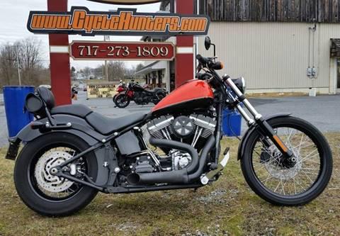 2012 Harley-Davidson FXS Softail Blackline for sale at Haldeman Auto in Lebanon PA