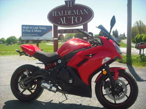 2012 Kawasaki Ninja 650R for sale in Lebanon, PA